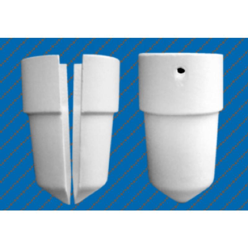 Тигель керамический для плавки металлов Наутилус