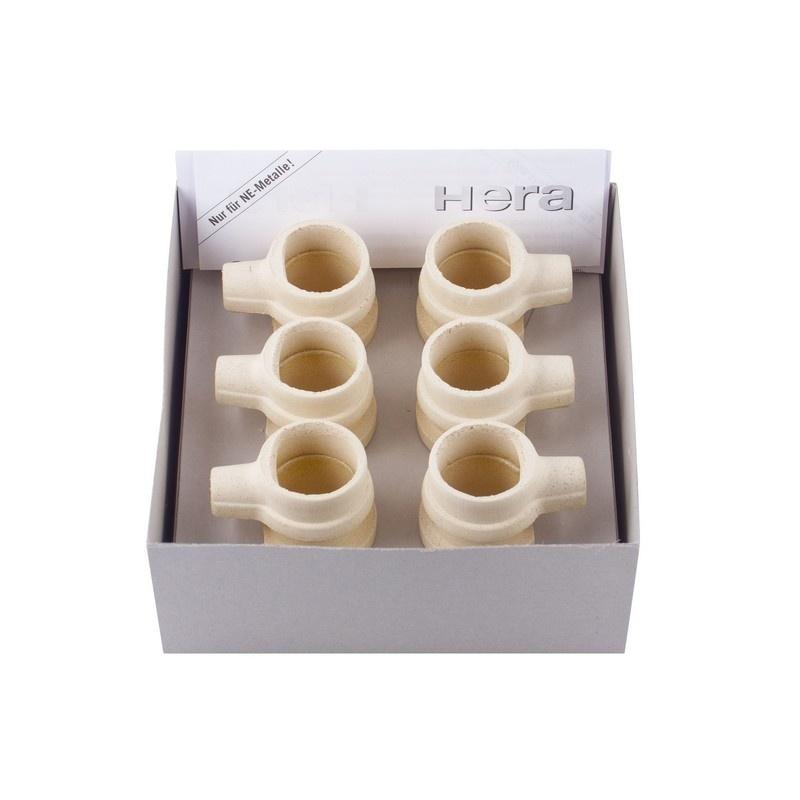 Тигли для плавки недрагоценных сплавов в литейных установках Heracast IQ и Heracast EC (6 шт.)