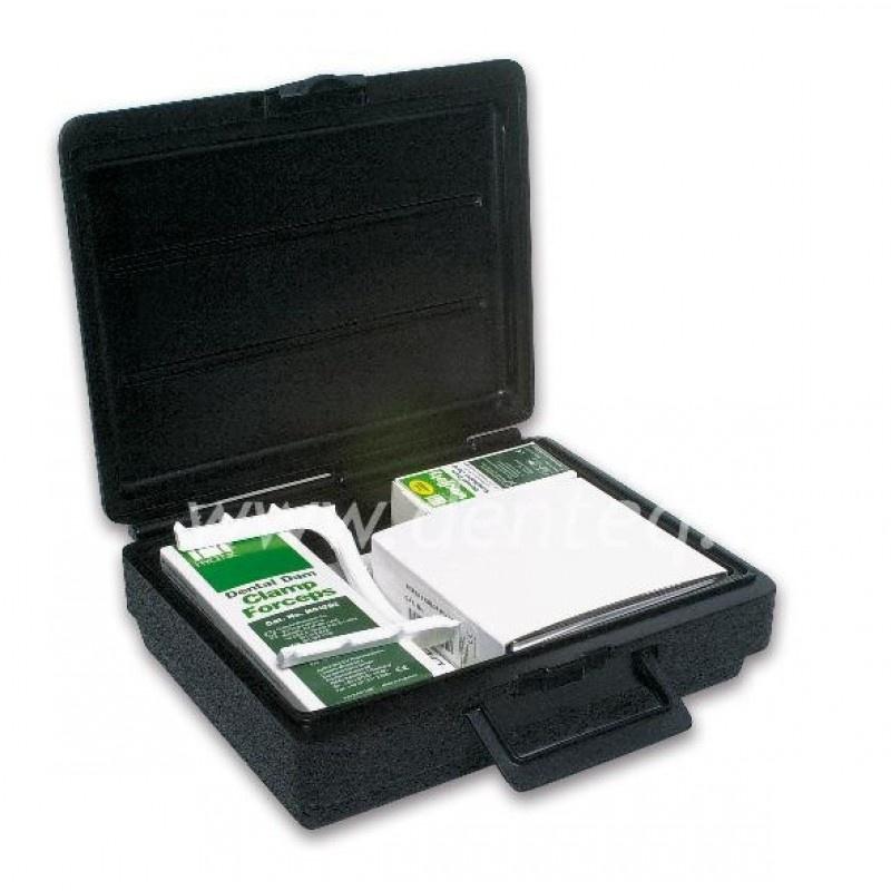 Коффердам с крылатыми кламмерами на автоклавируемой подставке Hygenic Dental Dam Kit (стартовый набор)