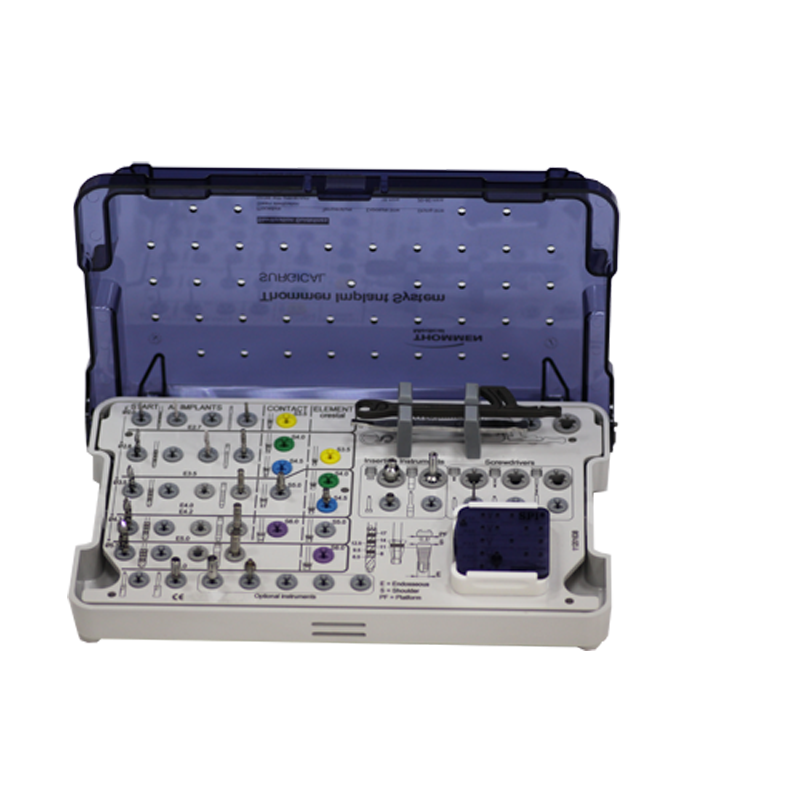 Хирургический набор с органайзером винтов