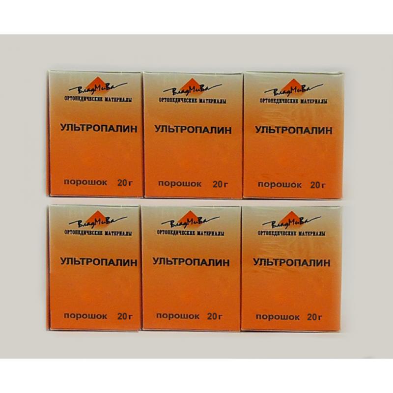 Ультропалин набор порошковых опакеров (6-цветный)