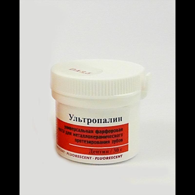 Фарфоровая масса Ультропалин Дентин (30 г)
