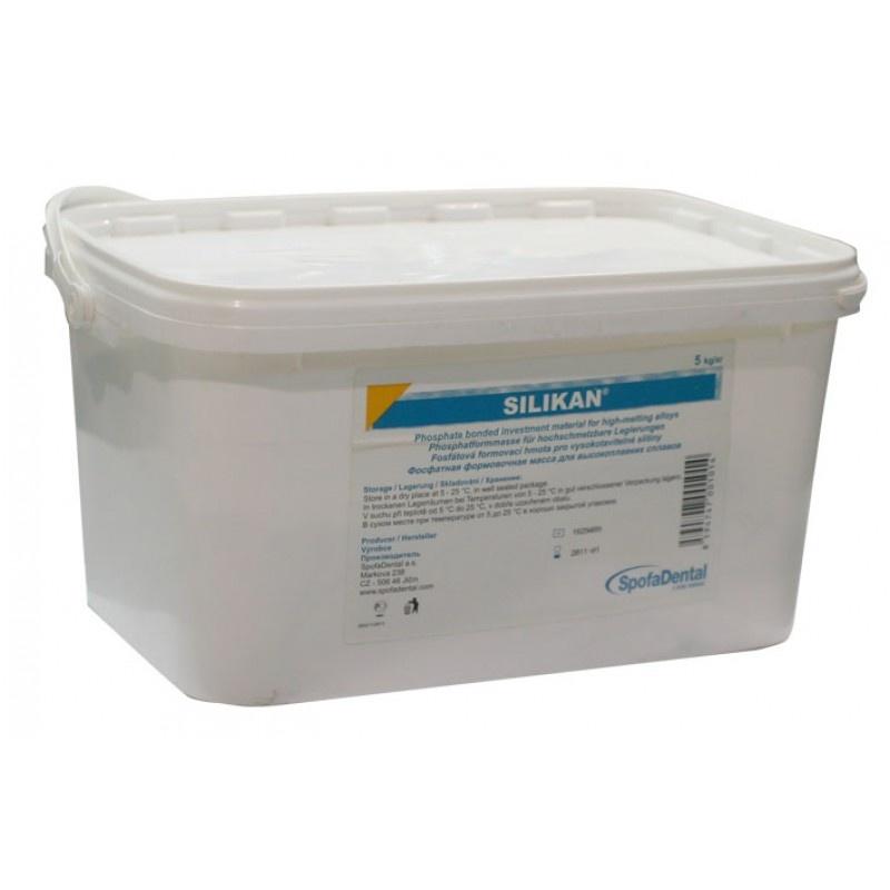 Фосфатная формовочная масса для высокоплавких дентальных сплавов Silican