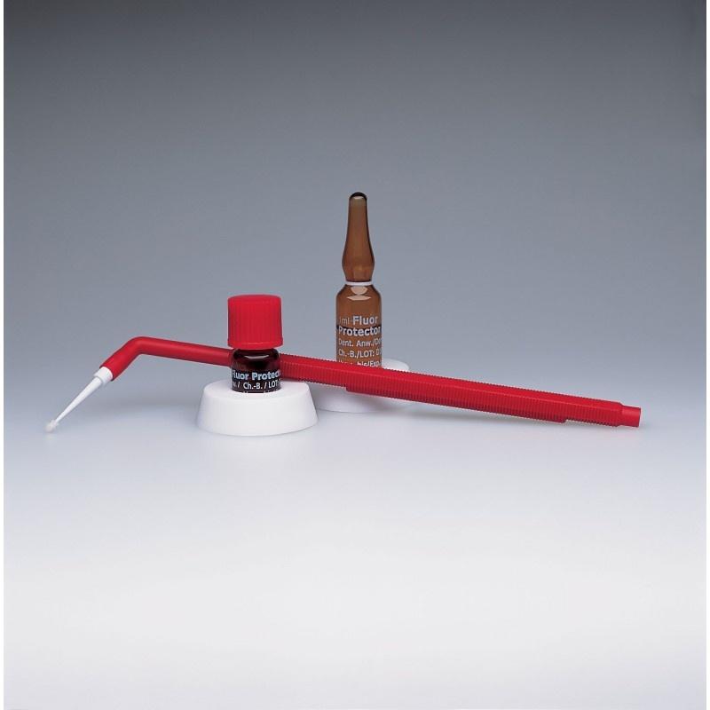 Лак фторсодержащий для снижения чувствительности и профилактики кариеса Fluor Protector (25 ампул по 1 мл, принадлежности)