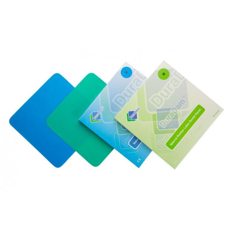 Латекс зеленый для кофердама DuraDam Medium (36 шт.)