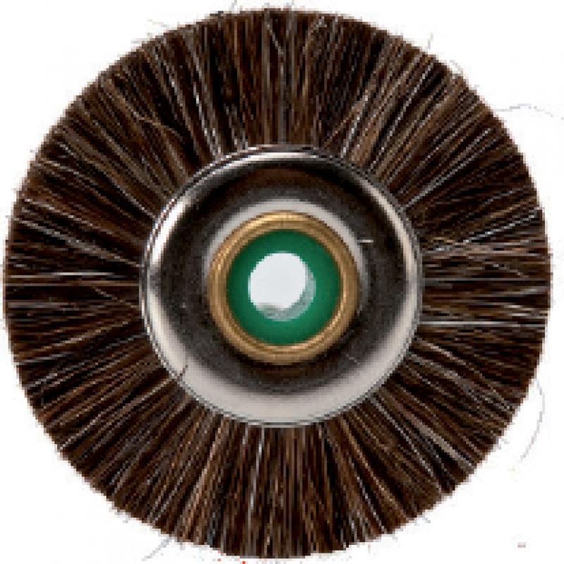 Щетка коричневая для окончательной очистки протеза (10 шт.)
