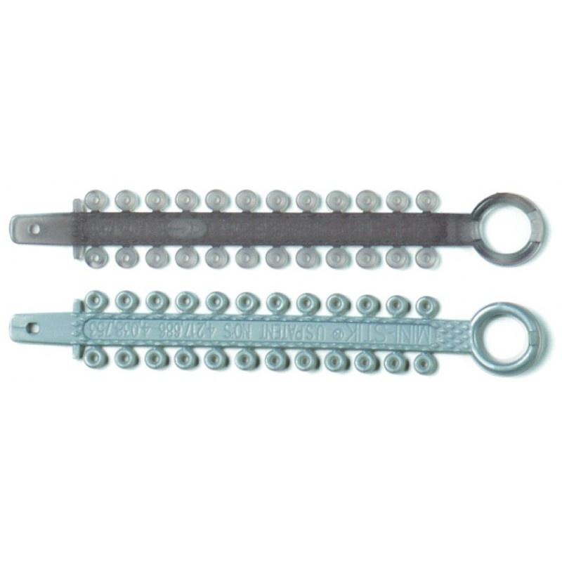 Лигатура эластичная Mini-Stick (24 лигатуры на модуле)