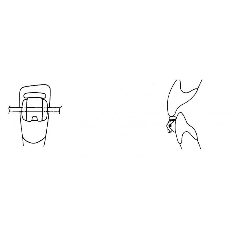 Лигатура эластичная с щитком