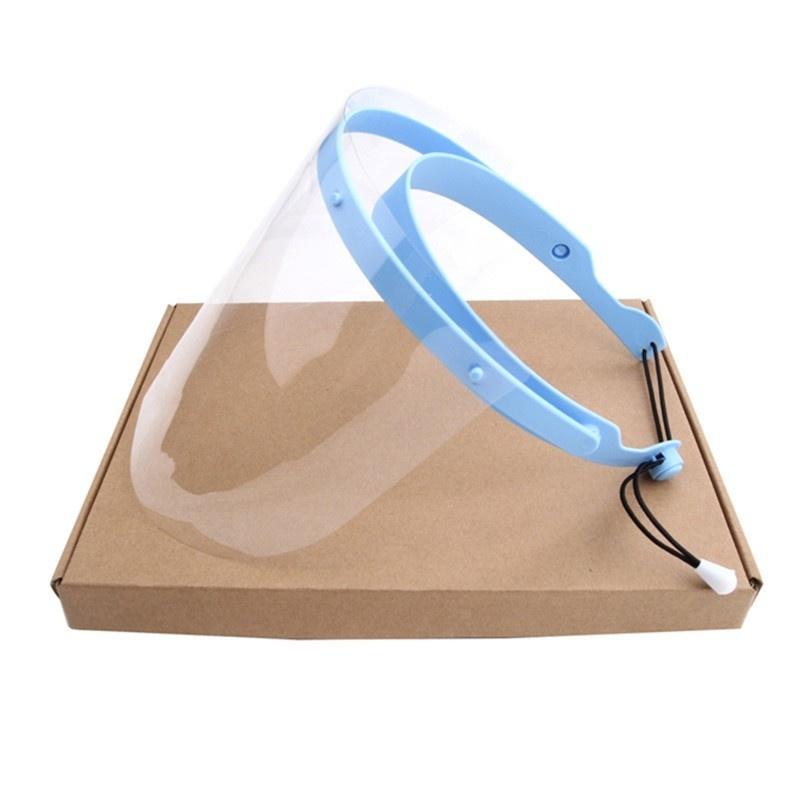 Маска-щиткок одноразовая из пластмассы Face shield (II) (1 шт.)