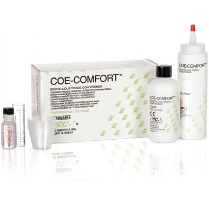 Материал акриловый для мягкой кратковременной перебазировки съемных протезов GC Coe Comfort Professional Package (набор)