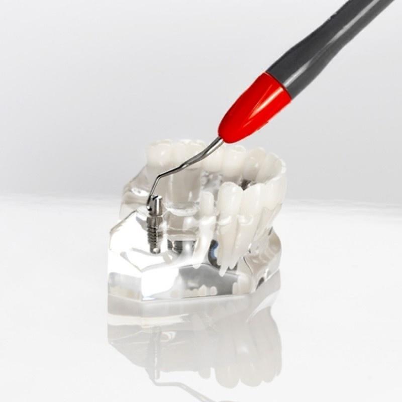 Кюрета пародонтологическая для резцов и премоляров Implant Mini Gracey 1/2 LM 201-202MTI EM