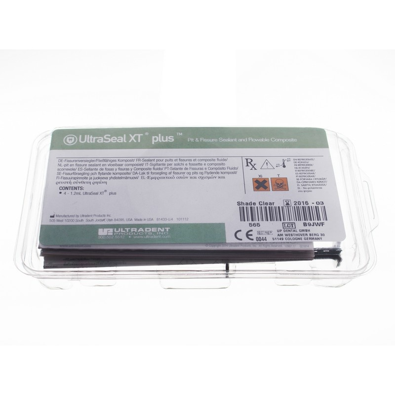 Материал для герметизации ямок и фиссур UltraSeal XT Plus (4 шприца)