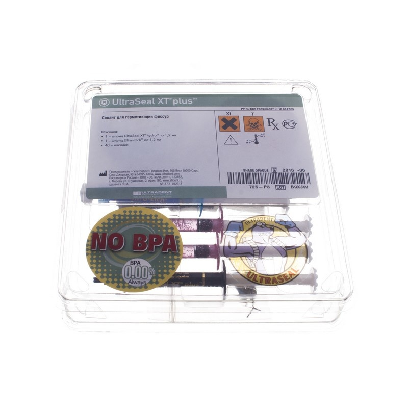 Материал для герметизации ямок и фиссур UltraSeal XT Plus Clear Kit (набор)