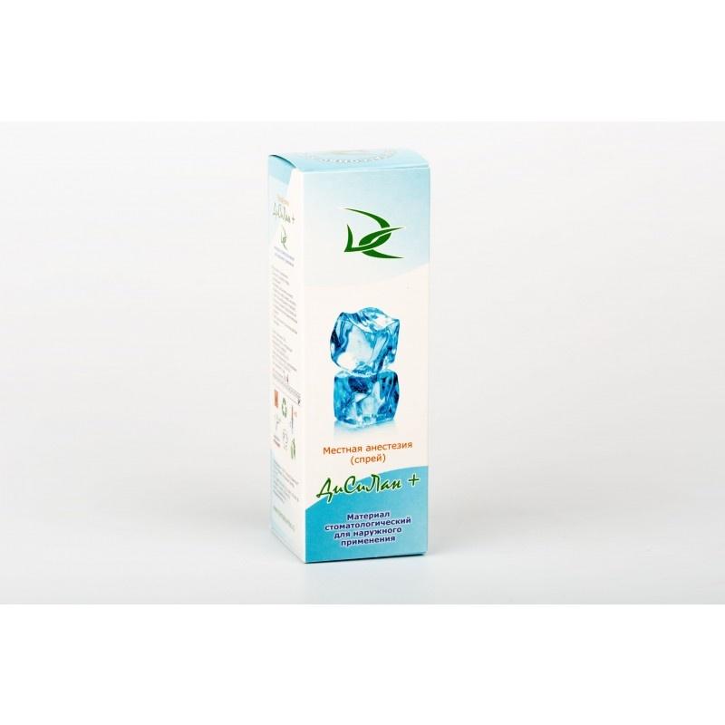 Материал для местной анестезии слизистой ткани рта Дисилан + (30 мл)