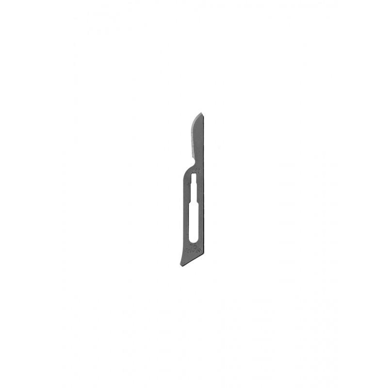 Лезвия для скальпеля односторонние №15 10-255-15 (100 шт.)
