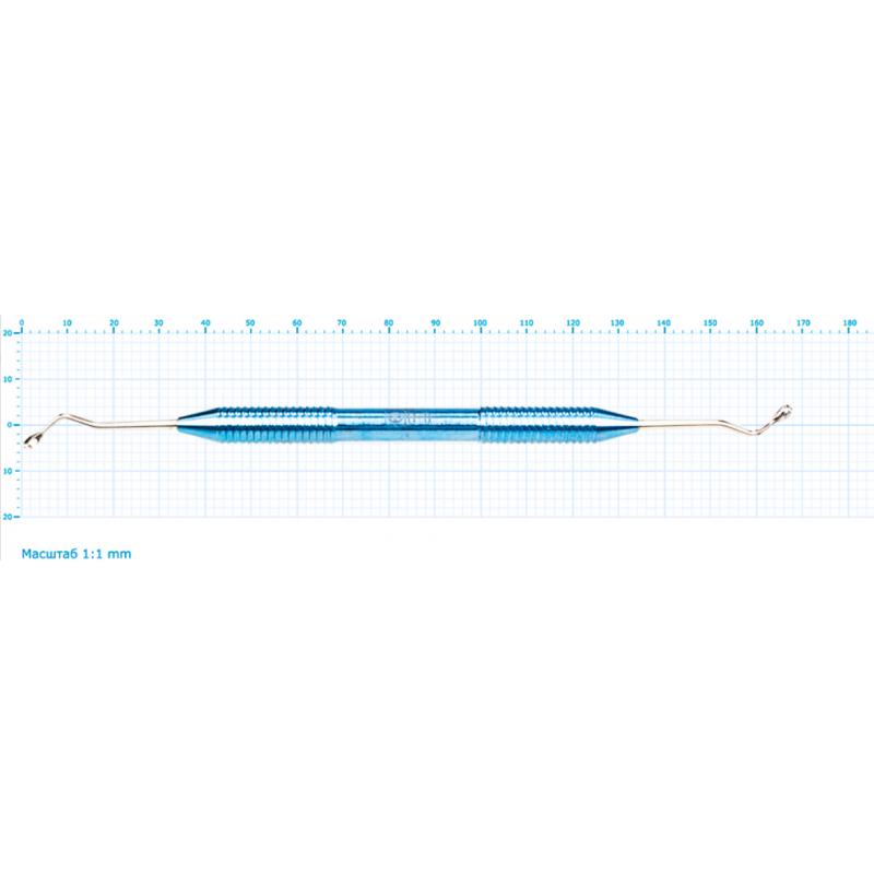 Ложка кюретажная изогнутая короткая средняя 2,8 (1 шт.)