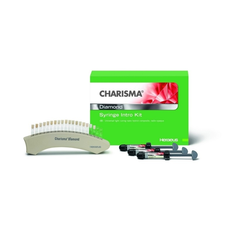 Материал композитный универсальный наногибридный светоотверждаемый Charisma Diamond (ознакомительный набор)