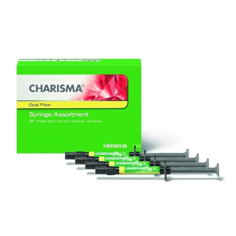 Материал композитный микрогибридный текучий Charisma Opal Flow Assortment (4 шприца по 1,8 мл)