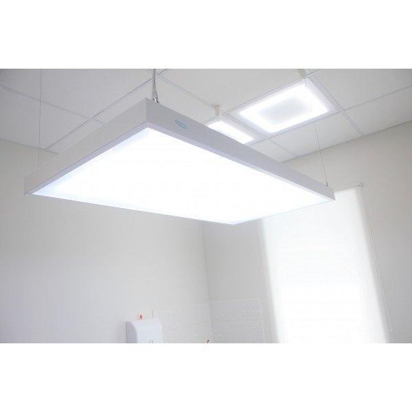 3LED 288 светодиодов - подвесной бестеневой светильник с пультом и раздельным включением осветительных элементов