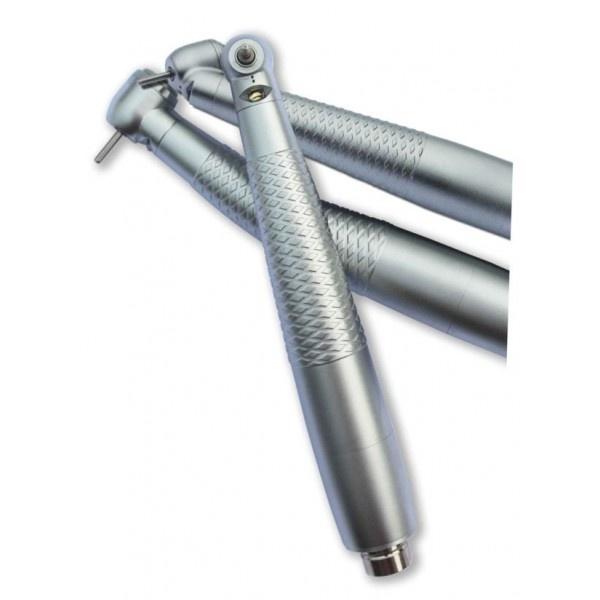CX207-F-TP - турбинный наконечник с генератором света, с ортопедической головкой, для 4-х канального соединения