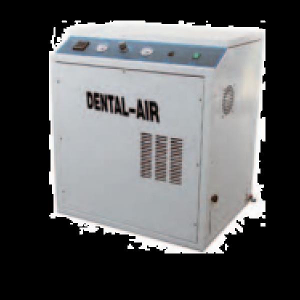 Dental Air 1/24/39 - безмасляный воздушный компрессор с кожухом (100 л/мин) на 1 установку