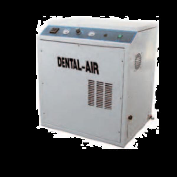Dental Air 2/24/39 - безмасляный воздушный компрессор с кожухом (150 л/мин) на 2 установки