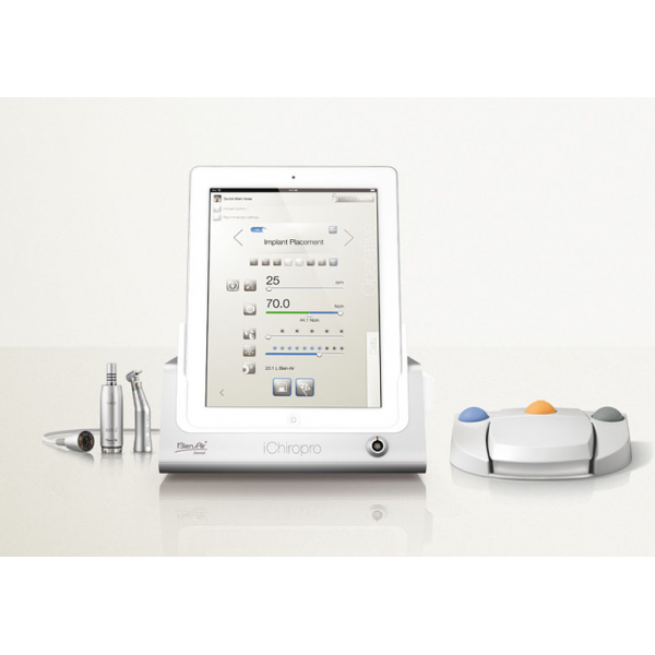 iChiropro - система для имплантологии, с подсветкой, iPad, наконечником CA 20:1 L Micro-Series KM