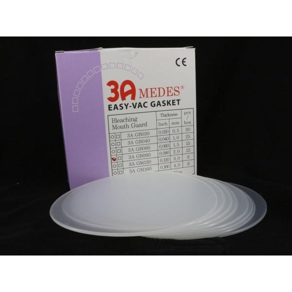 EV Gasket Bleaching 040 - пластины круглые, толщина 1,0 мм (25 шт.)
