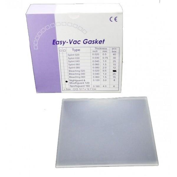 EV Gasket Mouthguard 160 - пластины квадратные, толщина 4,00 мм (6 шт.)