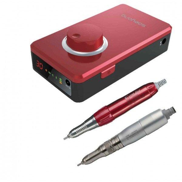 Marathon K38 - портативный щеточный зуботехнический микромотор (красный)