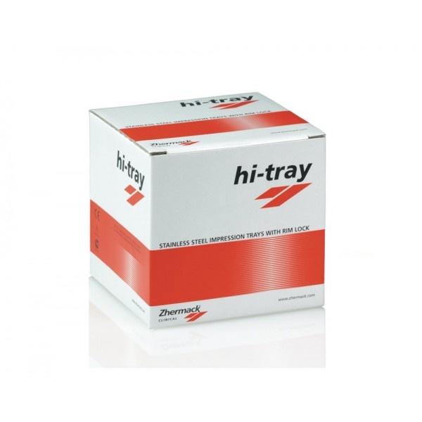 Hi-Tray Metal - ложка слепочная с перфорацией, верх/низ - 8 шт