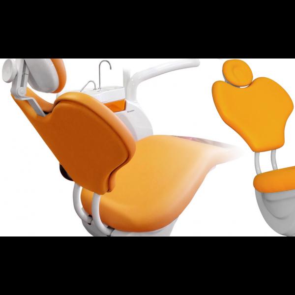 Chiromega 652.3 - кресло стоматологическое с тонкой спинкой, 5 программ