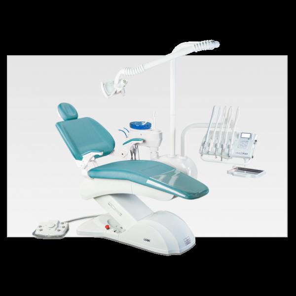 Olsen Prince Logic Cross Flex - стоматологическая установка с верхней подачей инструментов