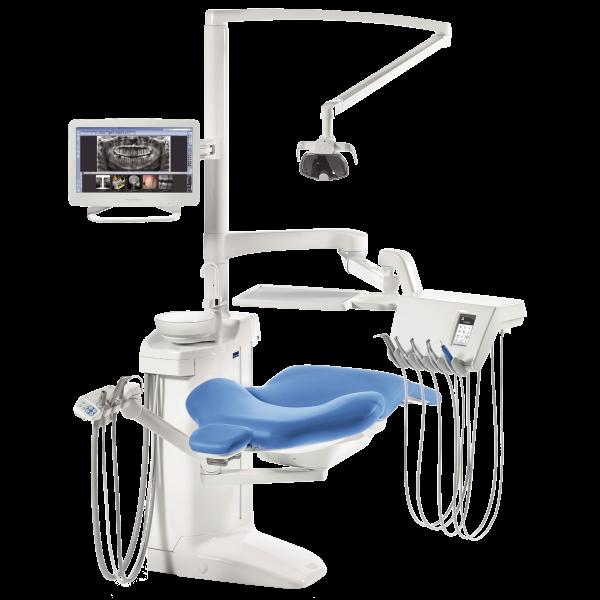 Planmeca Compact i Touch Multimedia - стоматологическая установка с сенсорной панелью и сухой аспирацией