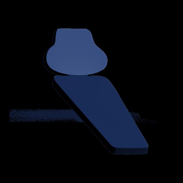 VIP M3 - ортопедическиий чехол для стоматологического кресла с памятью формы