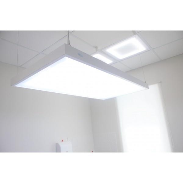Натурлайт 1 - подвесной бестеневой светильник с двумя люминисцентными лампами