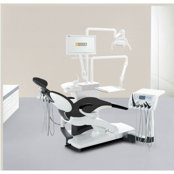 SINIUS - стоматологическая установка с верхней/нижней подачей инструментов