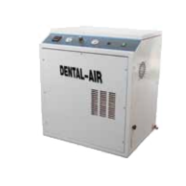 Dental Air 3/24/39 - безмасляный воздушный компрессор с кожухом (200 л/мин) на 3 установки