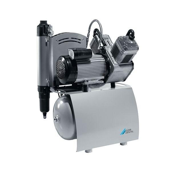 DUO - двухцилиндровый безмасляный компрессор, c осушителем, 105 л/мин