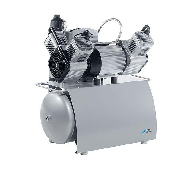 Trio - трехцилиндровый безмасляный компрессор, c осушителем, 160 л/мин