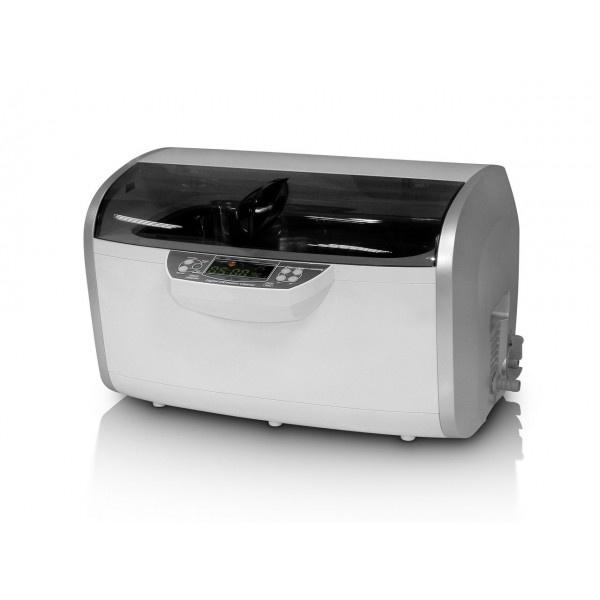 CLEAN 7810A - ультразвуковая мойка с подогревом и системой слива жидкости, в комплекте с аксессуарами, 6 л
