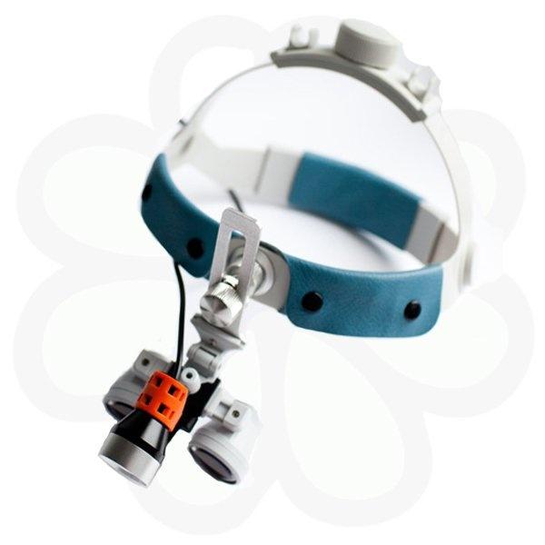 Kruder Forte 2.5х/3x/3.5x - бинокулярные лупы на шлеме