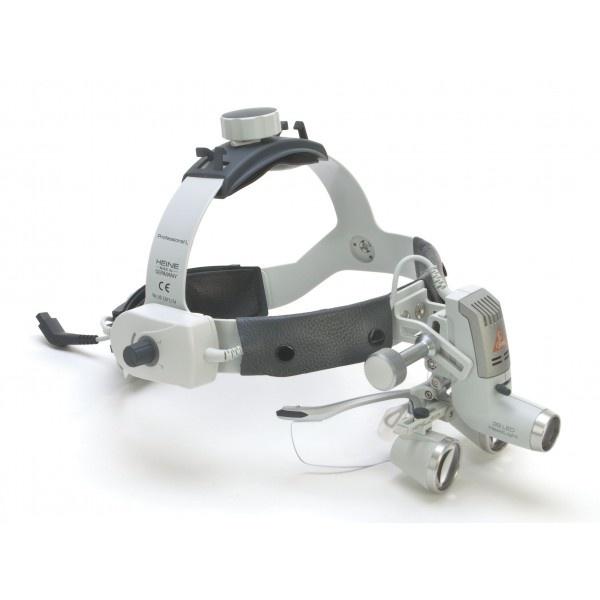 Heine 3S LED HeadLight - налобный светодиодный осветитель с зарядным блоком mPack UNPLUGGED (аккумулятор) с трансформатором