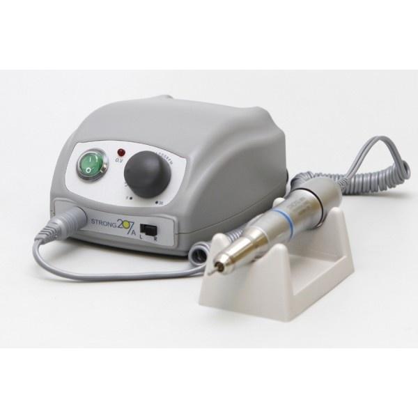 Strong 207A/107II - аппарат для маникюра без педали, с сумкой, 35000 об/мин, 64 Вт