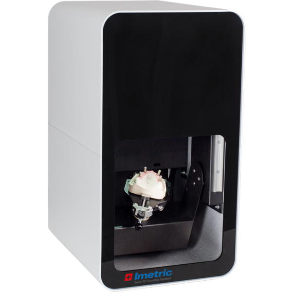 L1m - лабораторный 3D-сканер для коронок и мостов, с одной и несколькими реставрациями на основе имплантатов