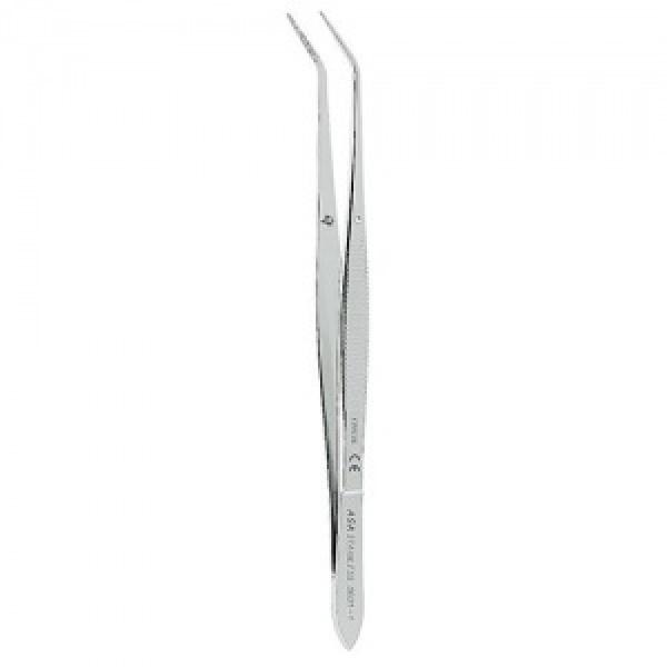 Пинцет анатомический изогнутый N1, 15 см